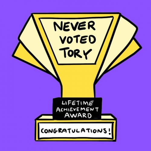 Never Voted Tory Wallpaper Download