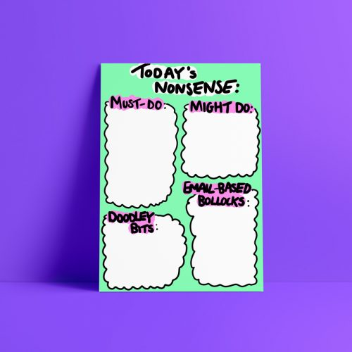 Nonsense Daily Planner Printable Download