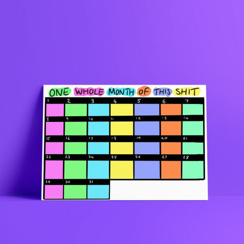 Colourful Calendar Download